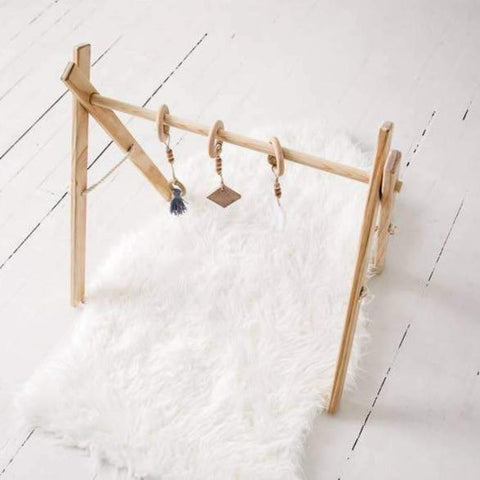Wooden Play & Activity Gym - Timber