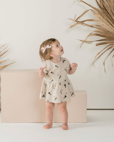 Toucan Raglan Dress