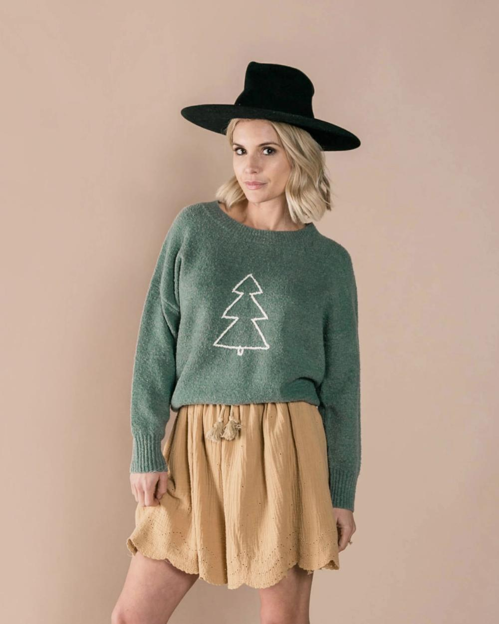 Tree Cassidy Sweater Rylee and Cru