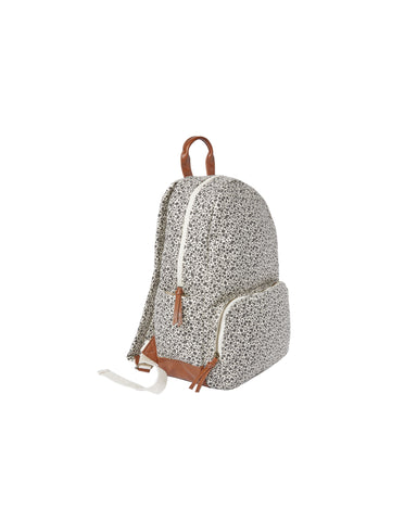 Flower Field Dome Backpack - Ivory