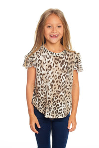 Vintage Jersey Flutter Sleeve Shirttail Tee by Chaser Kids | Bohemian Mama