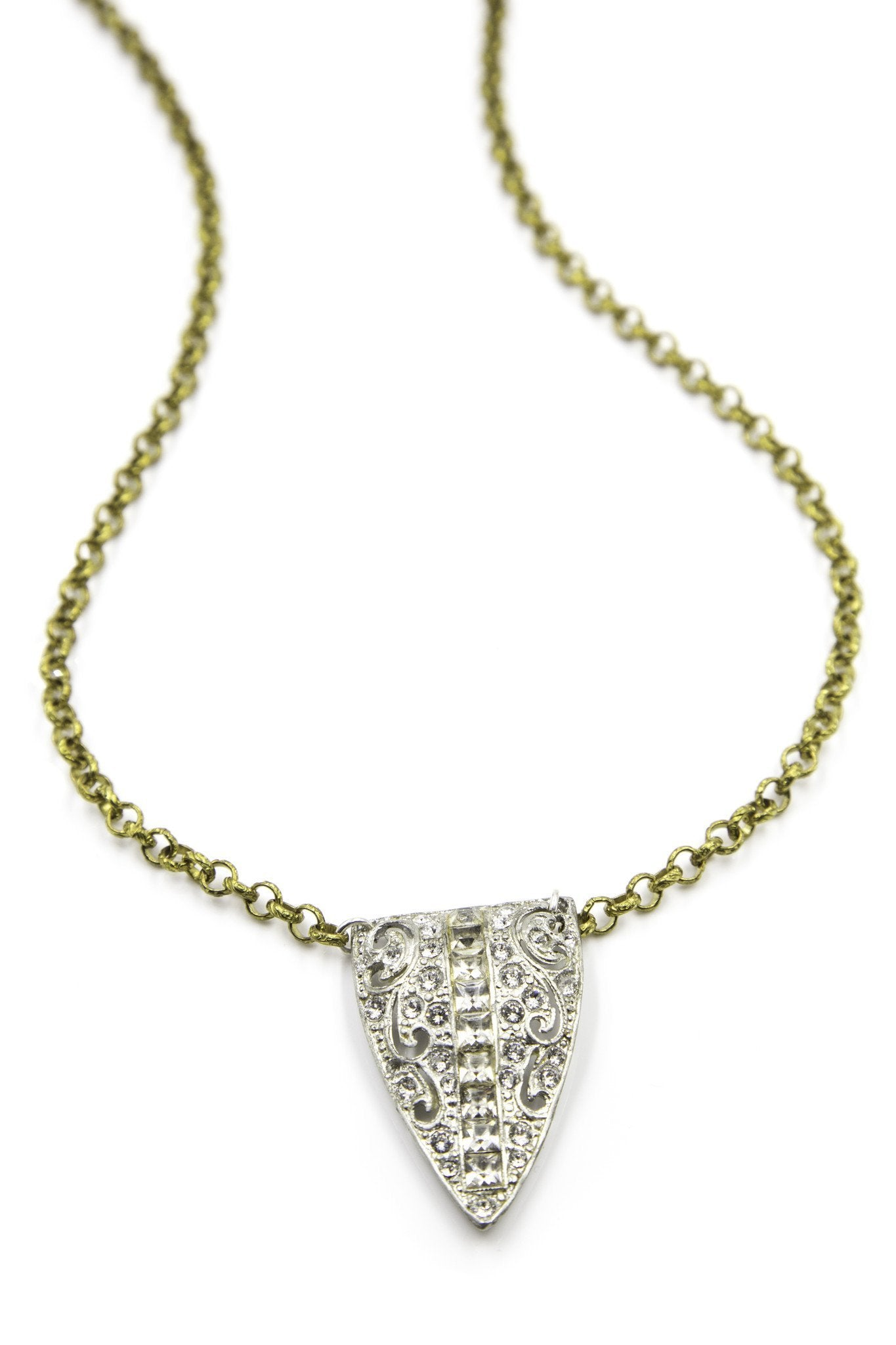 Load image into Gallery viewer, ella-vintage-short-necklace