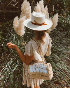 Val Diamond White Hat by Lack of Color