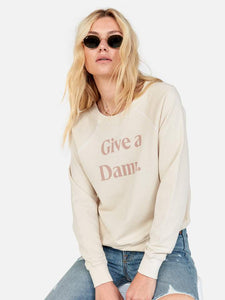 Mate The Label Vintage Pullover - Give A Damn