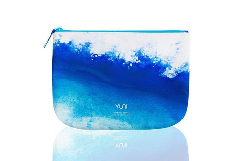Wave Blue Ombre Travel Bag from YUNI
