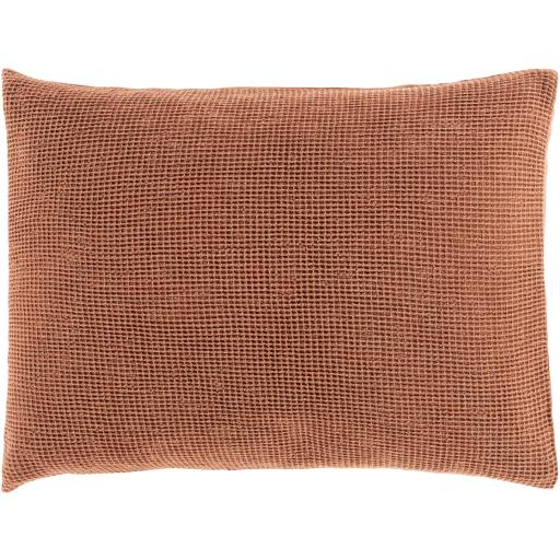 Load image into Gallery viewer, Waffle Bedding Collection -  Burnt Orange | Surya - Home Bedding & Pillow Shams