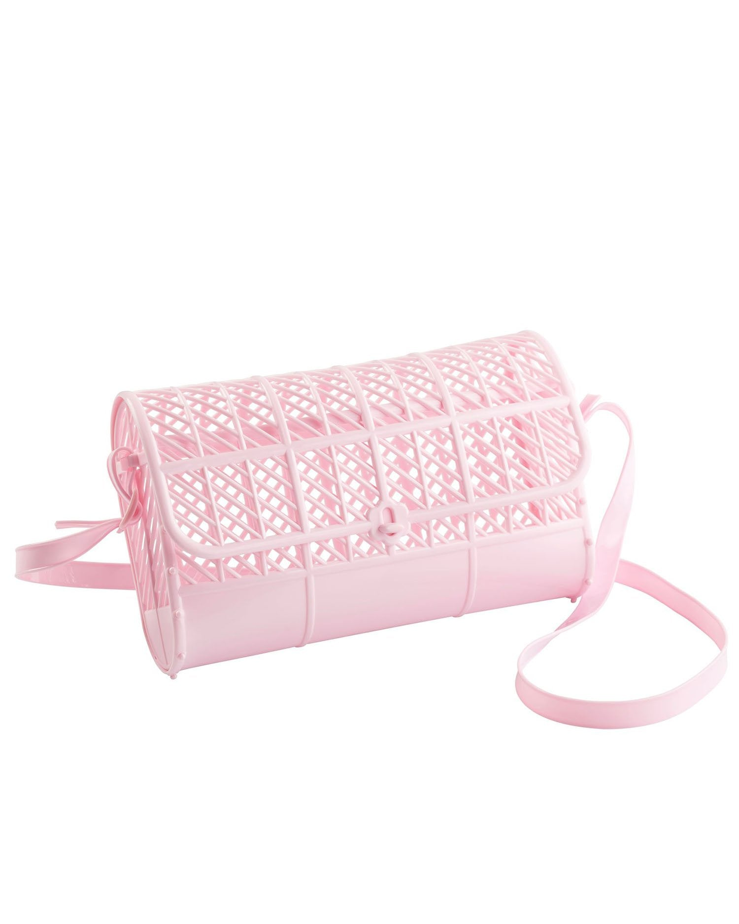 80s Fashion— What Women Wore in the 1980s Presale - Jelly Purse - Pink $35.00 AT vintagedancer.com