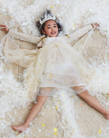 White Tulle Fairy Dress Up (5-6y)