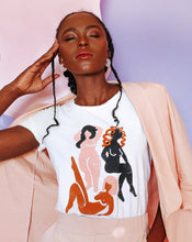 Load image into Gallery viewer, Wild Women Tee - White | Daze LA - Summer 2020 Divinity