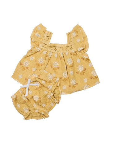 Wild Wawa Paisley 2pc Set Honey