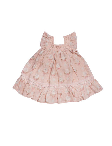 Wild Wawa Paisley Dress Pink