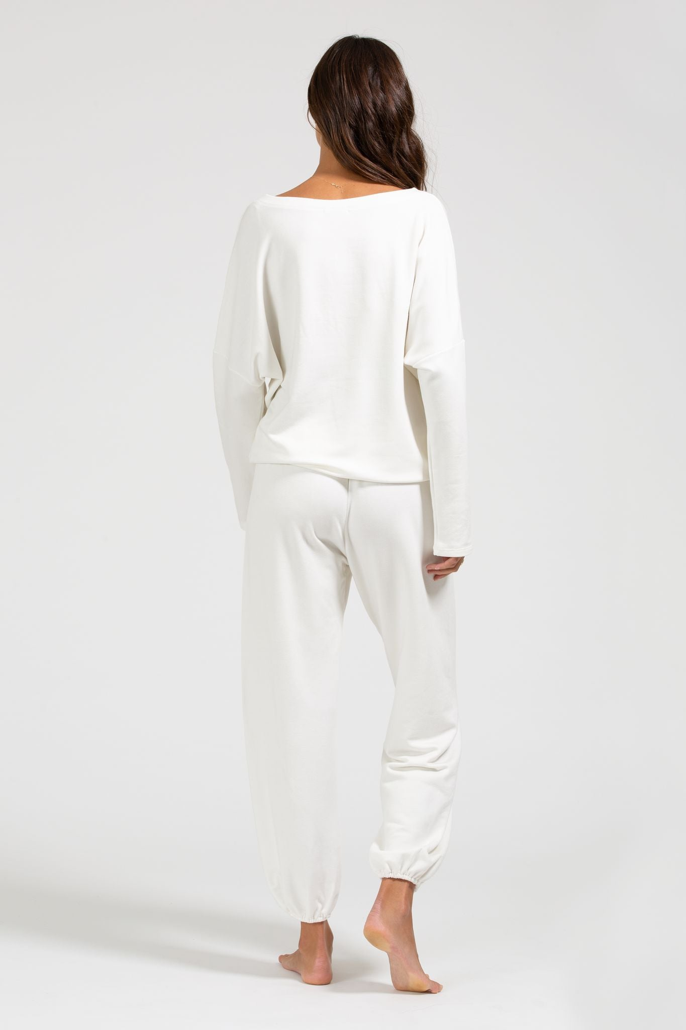 Load image into Gallery viewer, Winter Heather Slouchy Top - Winter White | Eberjey - Women's Sleepwear