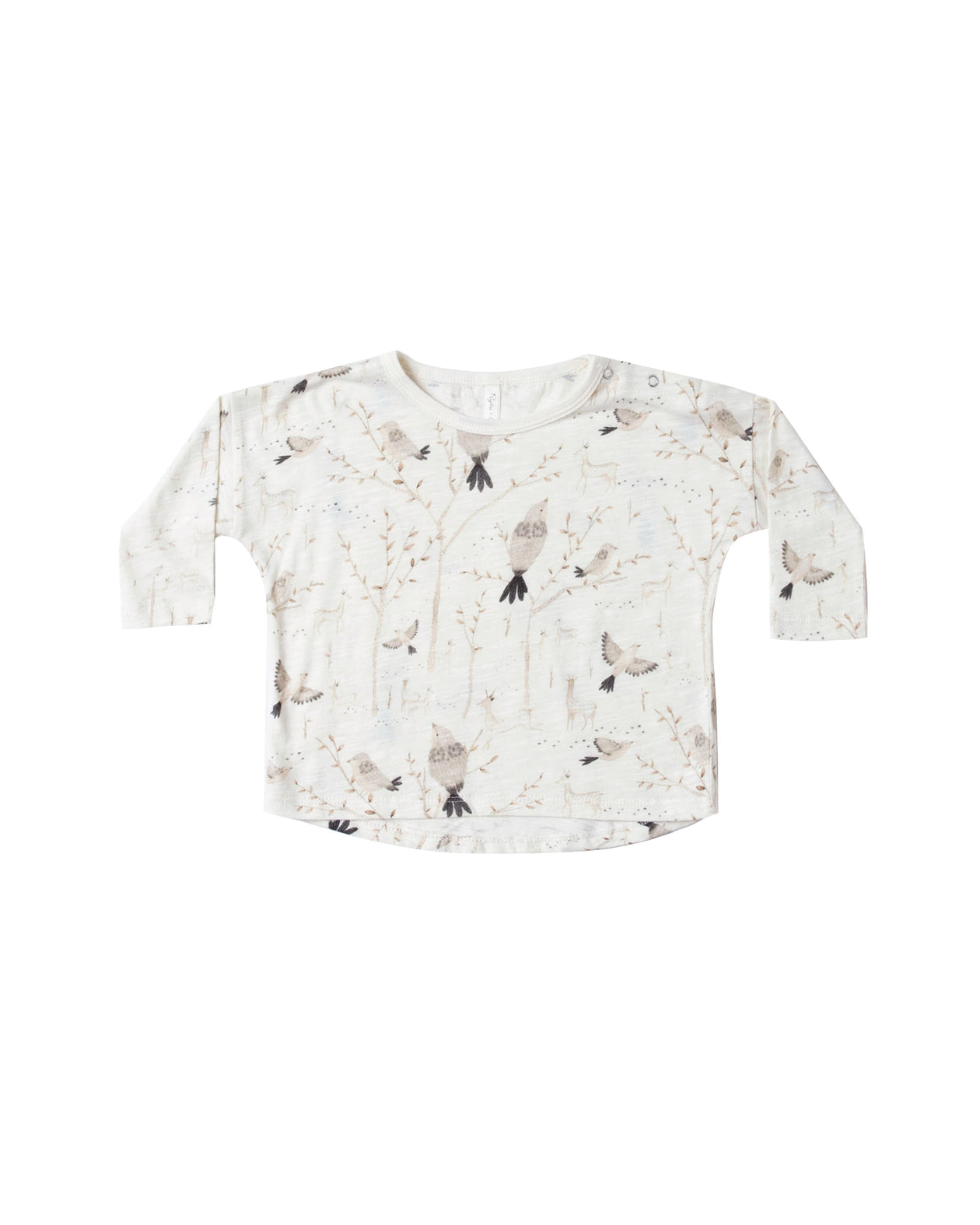 Winter Birds Long Sleeve Tee by Rylee & Cru