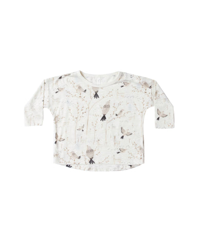 Winter Birds Long Sleeve Tee
