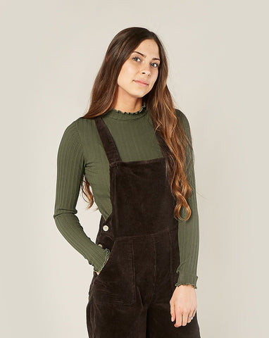 Women's Wide Leg Overall - Vintage Black