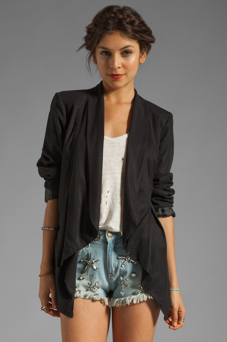 Black Womens Blazer