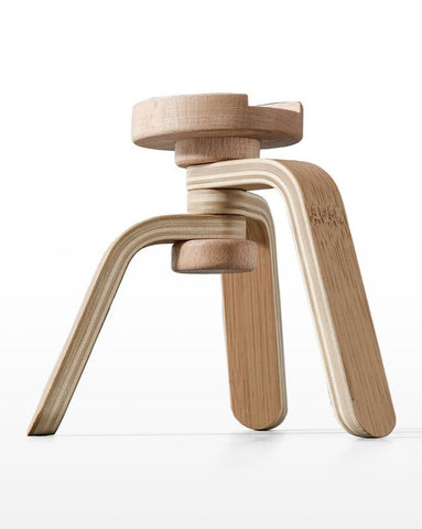 Wooden Toy Camera Stand