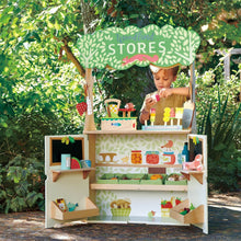 Load image into Gallery viewer, Woodland Stores and Theater- Tender Leaf Toys Kids Pretend Play Kitchen