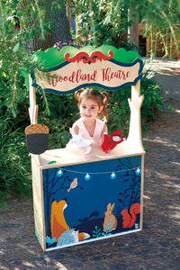 Woodland Stores and Theater- Tender Leaf Toys Kids Pretend Play Kitchen