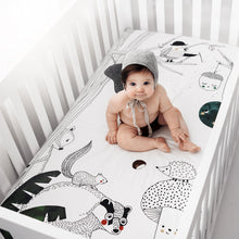 Load image into Gallery viewer, Rookie Humans Woodland Dreams Standard Size Crib Sheet