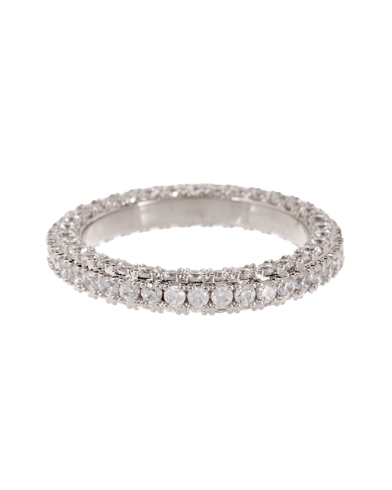 Load image into Gallery viewer, Pave Triple Band - Silver