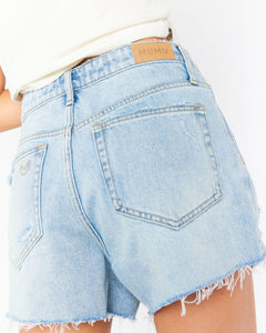 Phoenix Shorts - Cyprus Sea | Show Me Your Mumu - Women's Denim Shorts