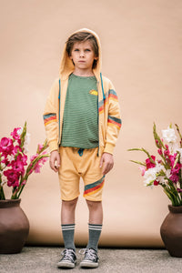 Zip Up Hoodie - Butter from Wander and Wonder for Kids