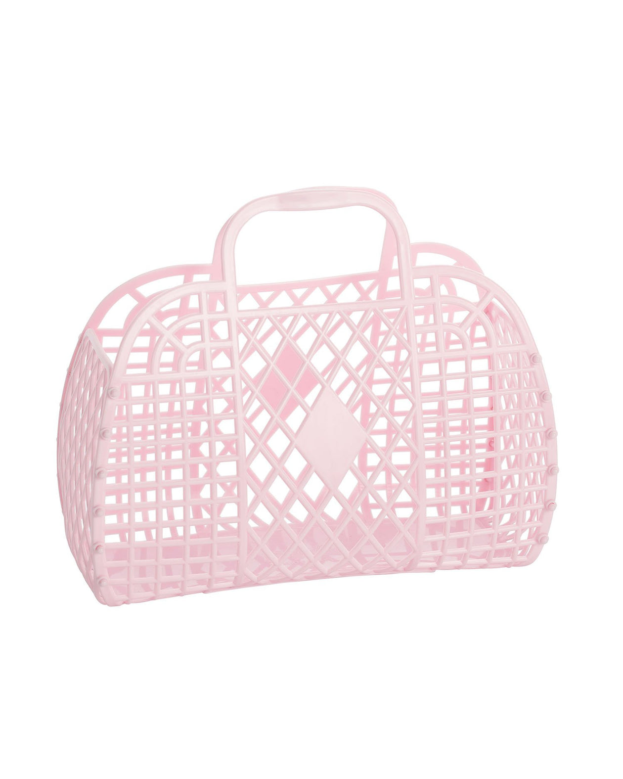Retro Basket- Pink | Sun Jellies Kids Handbag