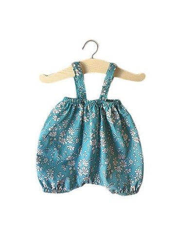 MiniKane Little Girl Doll Kim Bloomer - Sea Green