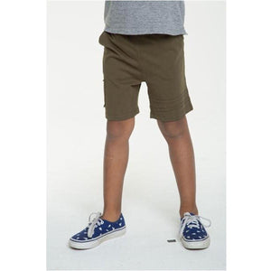 Chaser Kids Cotton Jersey Shorts with Strappings
