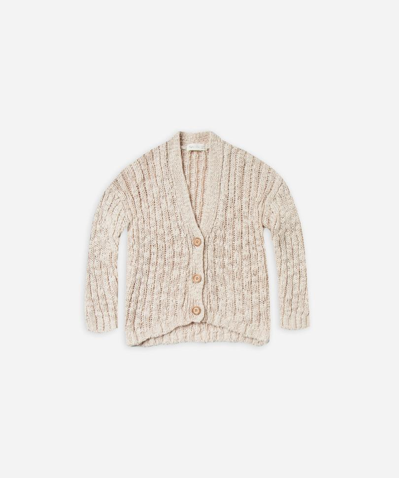 Load image into Gallery viewer, Birdy Cardigan in Wheat by Rylee & Cru | Kids