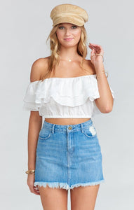 Kaya Crop Top by Show Me Your Mumu