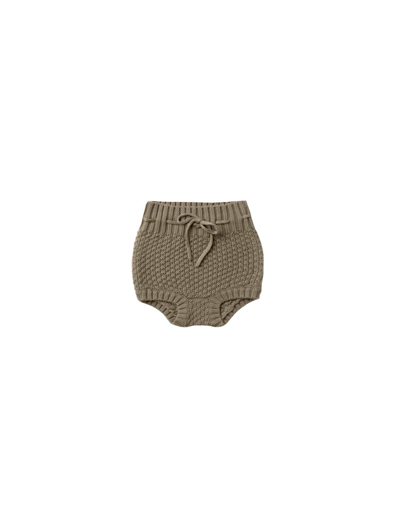 Quincy Mae Knit Tie Bloomer Olive