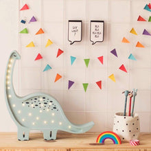 Load image into Gallery viewer, Little Lights Dinosaur Lamp | Kids Wooden Toys & Nursery Decor