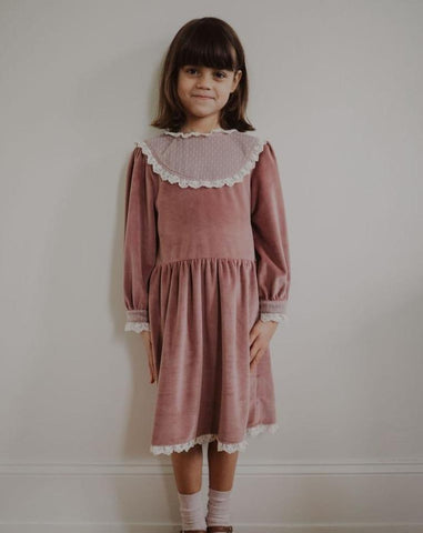 Fin & Vince Heirloom Dress - Mauve