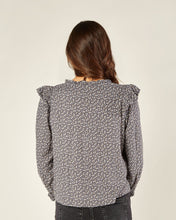 Load image into Gallery viewer, Rylee & Cru Ditsy Roony Blouse - Washed Indigo