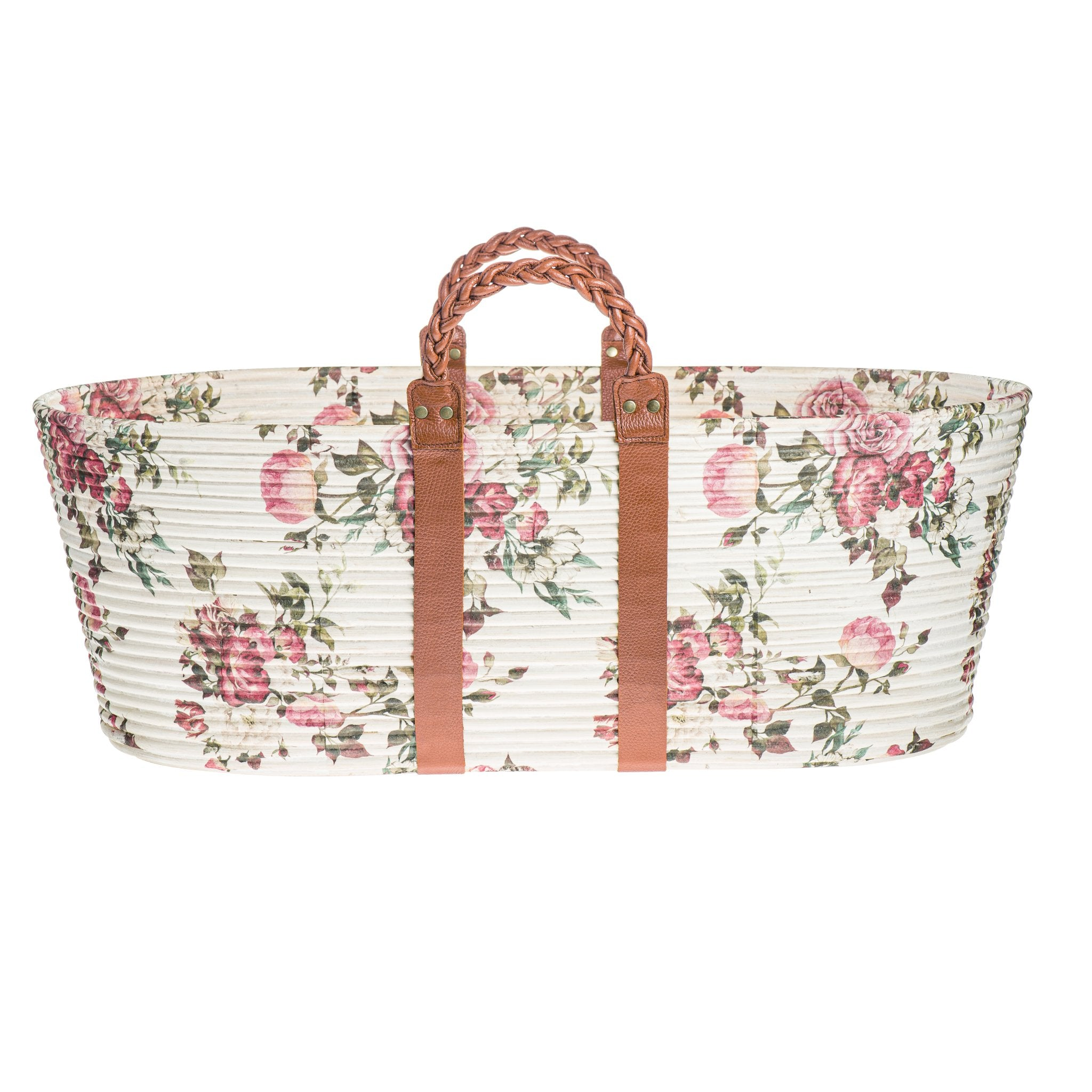 Load image into Gallery viewer, Dream Weaver - La Vie en Rose - Red | DockATot Moses Basket