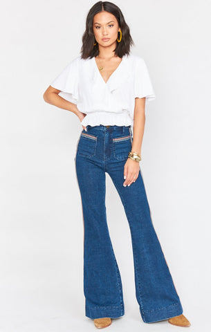 Farrah Trouser Flare - Sunset Strip