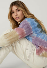Load image into Gallery viewer, Autumn Tie Dye Long Sleeve Crop | Daydreamer LA - Women's Clothing
