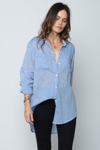 The Favorite Shirt in Chambray Indigo by Stillwater
