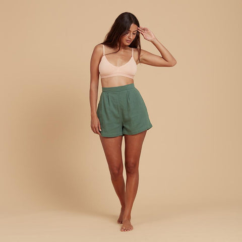 Fern Relaxed Shorts - Meadow