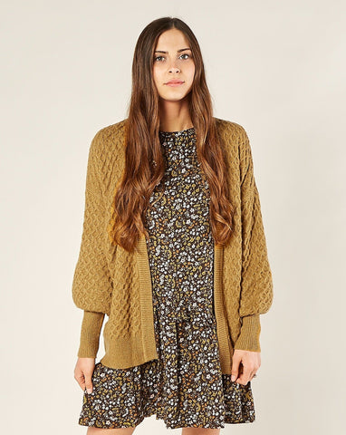 Women's Gretel Cardigan - Goldenrod