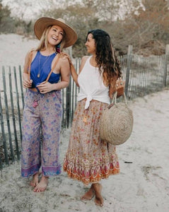 Gina Pant - Purple | Bohemian Mama - Women's Clothing
