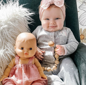 MiniKane Little European Baby Girl Doll