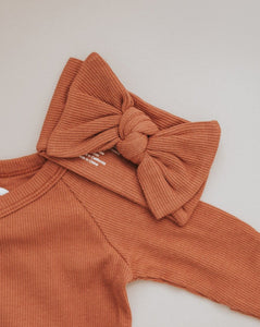 Terra Cotta Head Wrap | Brixton Phoenix - Newborn Clothing & Accessories