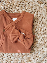 Load image into Gallery viewer, Terra Cotta Head Wrap | Brixton Phoenix - Newborn Clothing & Accessories