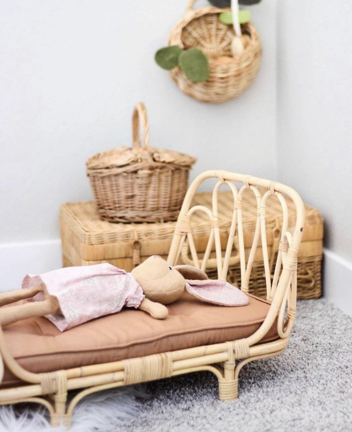Poppie Day Bed Clay