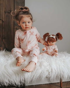 Bohemian Mama Organic Cotton Footless Onsie