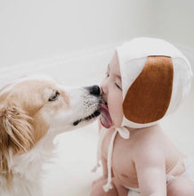 Load image into Gallery viewer, puppy ear bonnet briar baby
