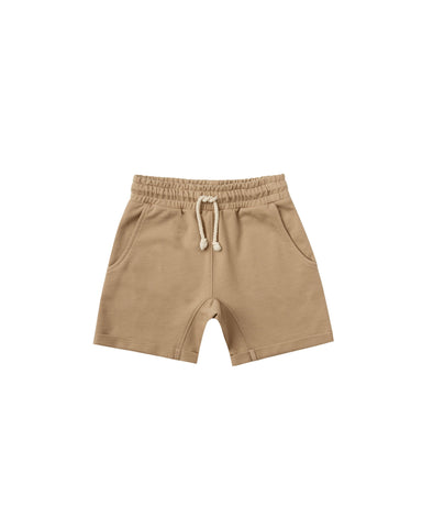 Terry Sweat Short Almond